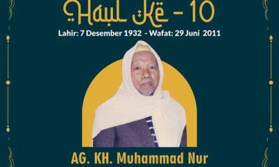 Haul Prof. Dr. K. H. Muhammad Nur Ke-10
